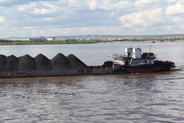 Перевозка каменного угля и угля антрацита водным транспортом