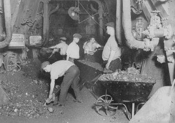 История добычи каменного угля и угля антрацита, продолжение