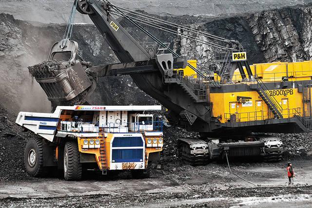 история добычи угля